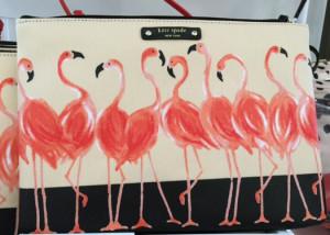 Kate Spade Flamingos