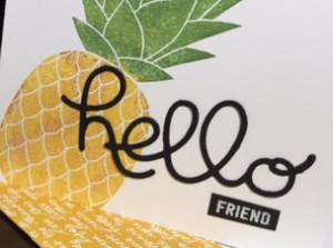 Pineapple Hello Crop