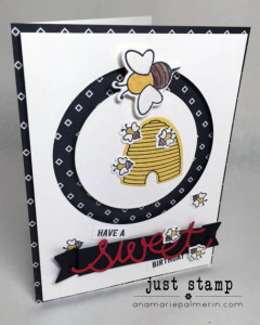 Interactive Bee Birthday Card