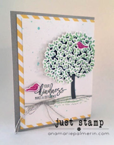 Thoughtful Branches Kindness Card