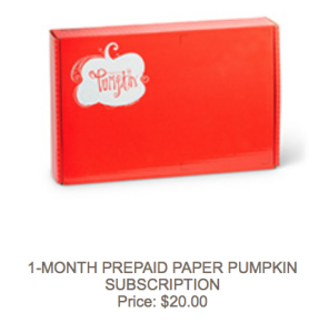 1-month-prepaid-paper-pumpkin