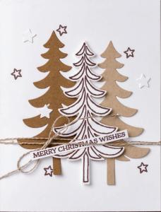 Santa's Sleigh Tree Trio