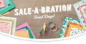 Sale-A-Bration Final Days