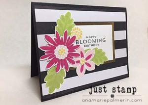 Just Stamp Flower Patch Birthday