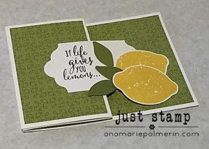 Stampin Up! Lemon Zest